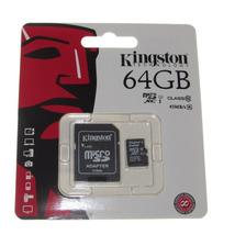 Memoria Micro Sd Xc 64gb Kingston Clase 10 Original 80mb/s