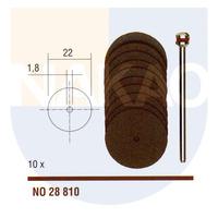 Disco de Corte em corindo 22 X 0,7 mm - 28810 - Proxxon