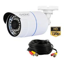 Camara De Seguridad Exterior Hd Resistente Al Agua 720p Dvr