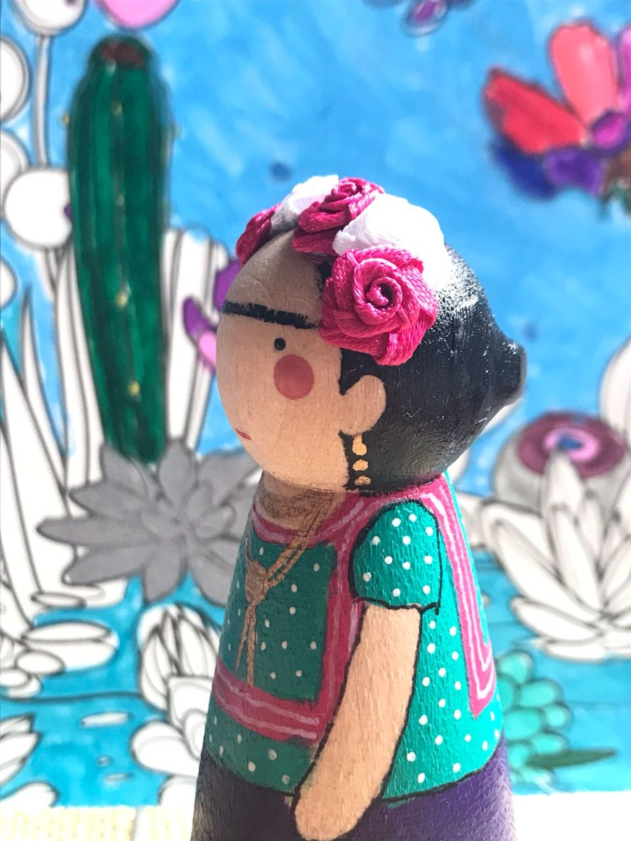 Frida Pegdoll by @casafigueroa