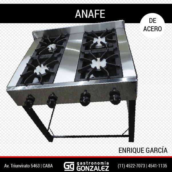 Anafe 2 Hornallas Enrique Garcia