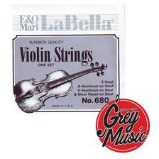 Encordado Violin La Bella 680 - Grey Music -