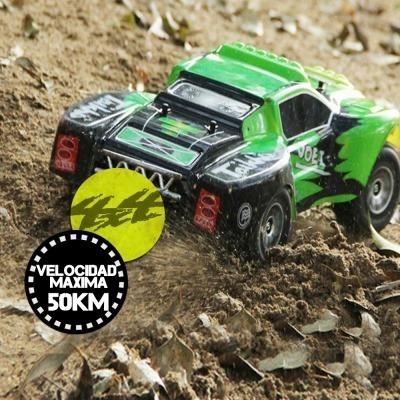 Auto A Radio Control Remoto Rally 4x4 Rc 50 Km/h Wltoys