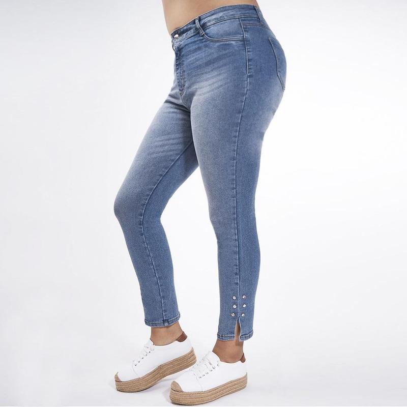 Pantalón Azul Mezclilla 019438