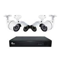 Kit de Videovigilancia de 4 cámaras y 8 Canales QKC4D81701