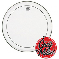 Parche Remo Usa Ps-1320-00 Pinstripe Clear 20  -grey Music -