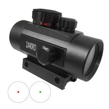 Mira Red Dot 1x40 Rojo Verde Rifles Aire Comprimido Co2 Swat