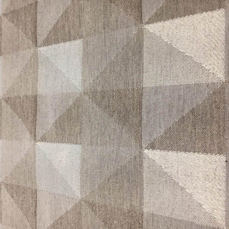 Tecido para estofado Jacquard geométrico  Linen 37