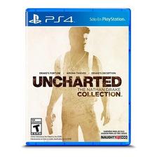 Uncharted Collection Trilogia Ps4 Fisico Sellado Original