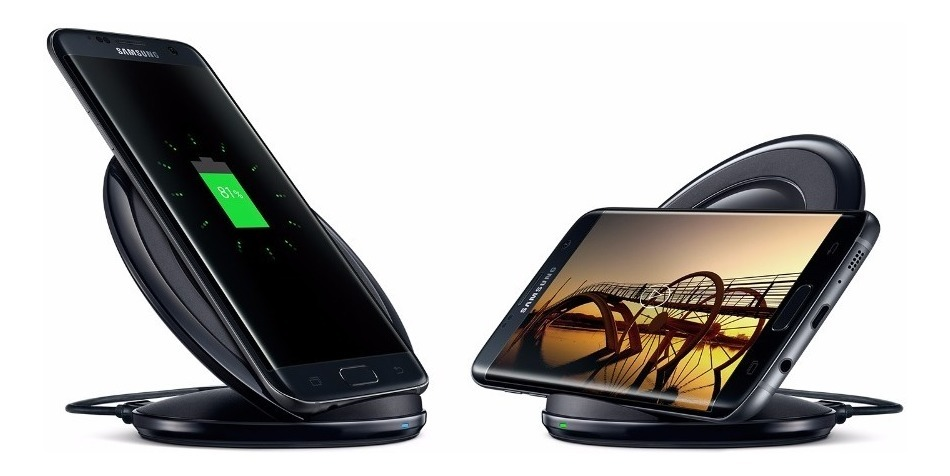 Cargador Inalambrico Fastcharge Qi S7 Edge Note 8 S8 S9 Plus