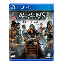 Assassins Creed Syndicate Ps4 Fisico Sellado Nuevo Original
