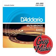 Encordado Daddario Ez910 De Guitarra Acustica 011