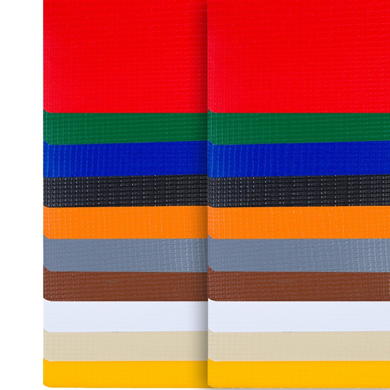 Lona para toldo Beti-Sol vermelho avesso da mesma cor (510gr) larg. 2,82 m