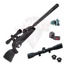 Rifle Aire Comprimido Gamo Replay Nitro Pistón Cargador Mira