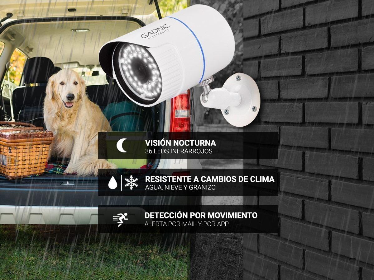 Kit 4 Camaras De Seguridad Infrarroja Hd Con Dvr Cctv Gadnic