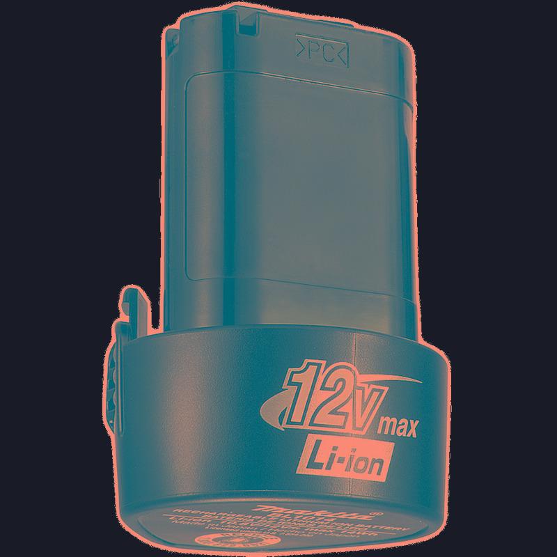 Kit Com 4 Baterias 12V Íon de Lítio BL1014 - 196338-0 - Makita