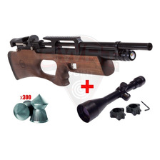 Rifle Pcp Kral Breaker W Bullpup Regulable Caza + Mira 4x40