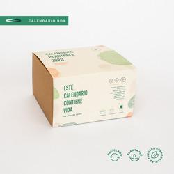 5 Box Calendario Plantable 2020