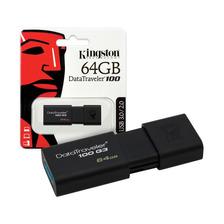 Pendrive 64gb Kingston Dt100g3 Usb 3.0 3.1 Pen Drive Oficial