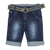 Bermuda Jeans c/ cinto Crawling