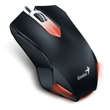 Mouse Gamer Usb Optico 1000 Dpi Diestro Zurdo X-g200 Genius