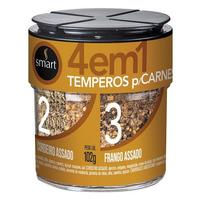 Mix de Temperos para Carnes 4x1 - 102g - Smart