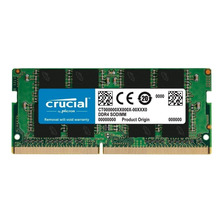 MEMORIA RAM CRUCIAL SODIMM DDR4 16GB 2400MHZ MAC NOTEBOOK