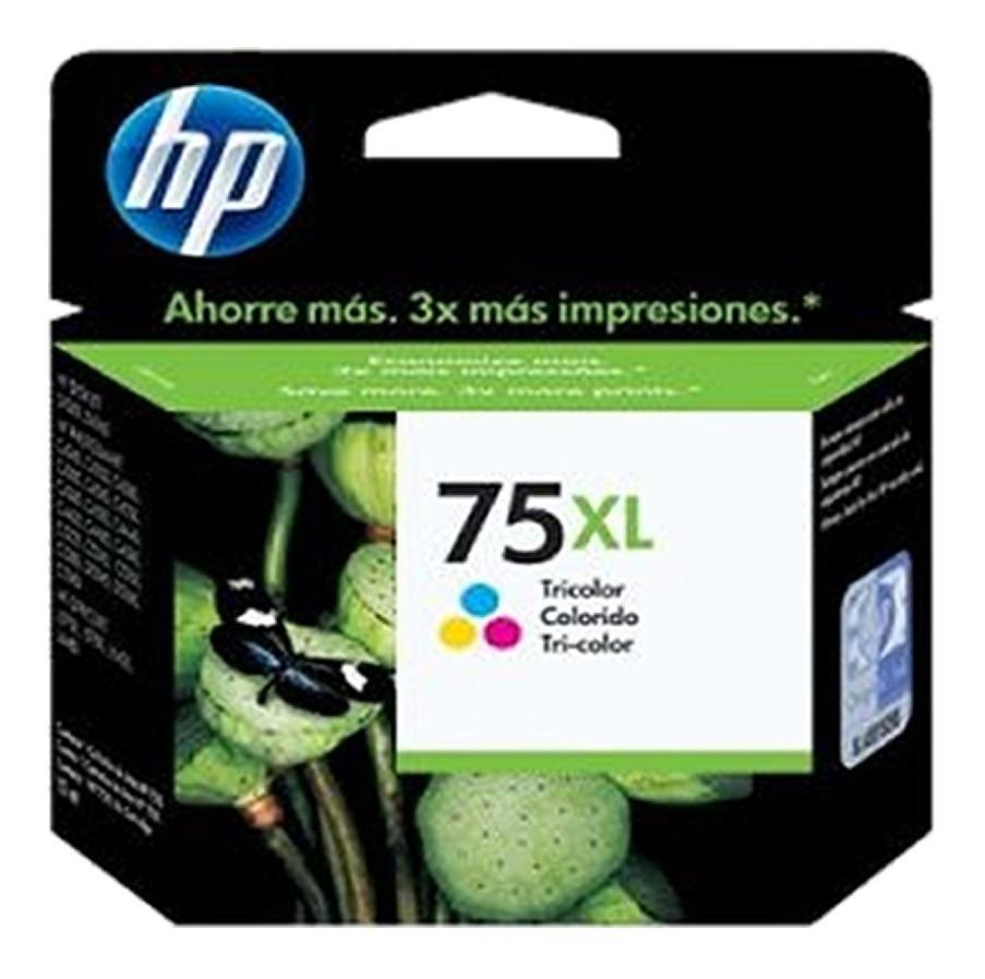 Combo Cartucho Hp 74xl + 75xl Tinta Negra+color Originales