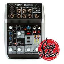 Consola De Sonido Mixer Behringer Xenyx Q502 Usb 2 Canales