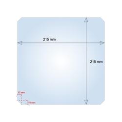 Vidrio Cama Caliente Prusa i3 215mm x...