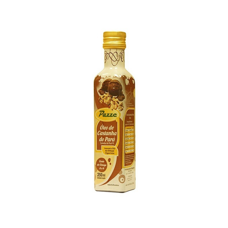 Oleo de Castanha do Para Extra Virgem 250ml - Pazze
