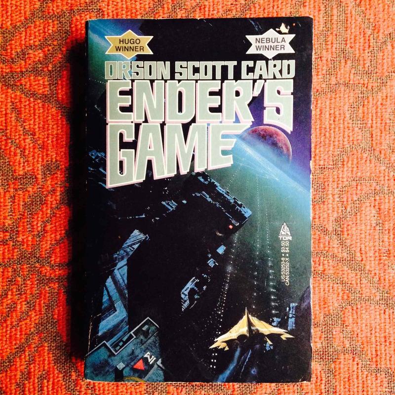Orson Scott Card.  ENDER'S GAME.