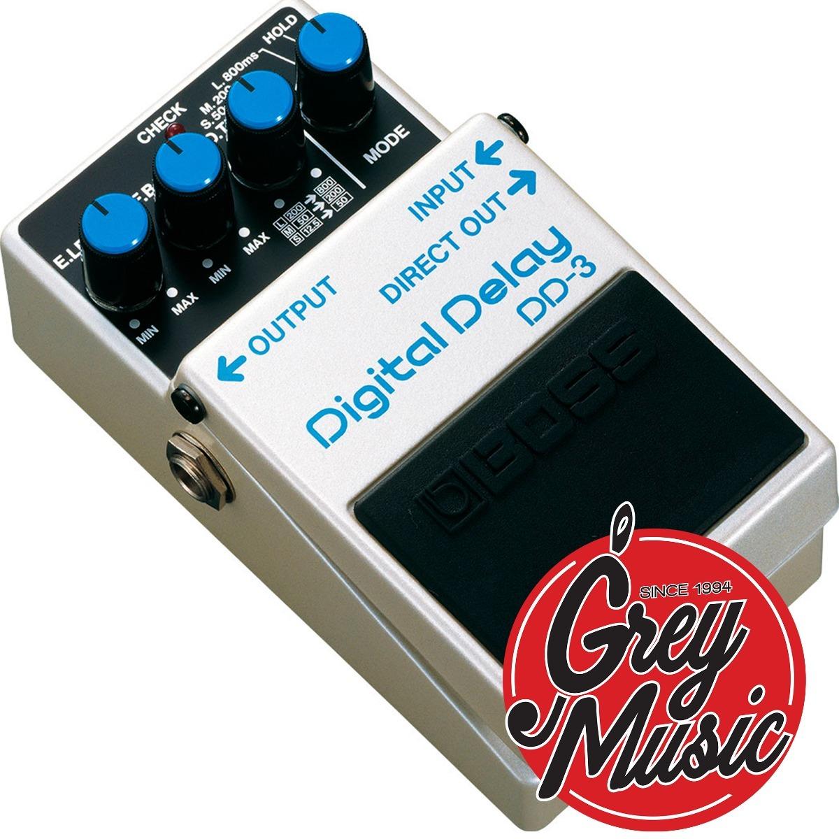 Pedal Boss Dd-3 De Efecto Digital Delay Guitarra Eléctrica