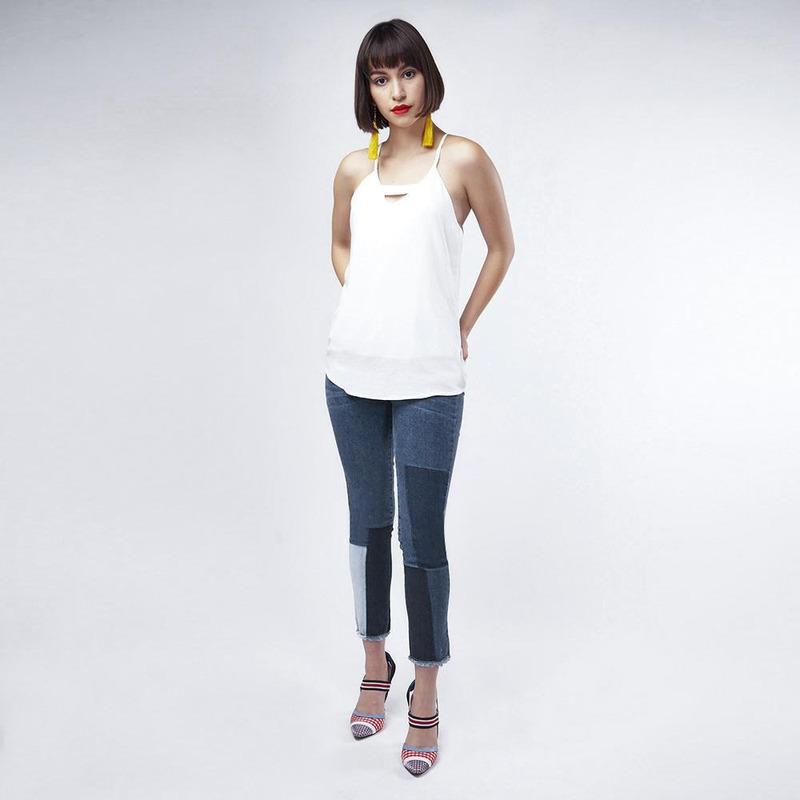 Blusa Blanca Casual 019426