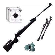 Rifle Aire Comprimido Fox Nitro Magnum Black 1100 Fps Bipode