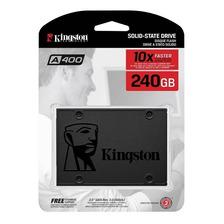 Disco Solido 240gb Kingston A400 Ssd 550mbps 2.5 Uv400 Gtia