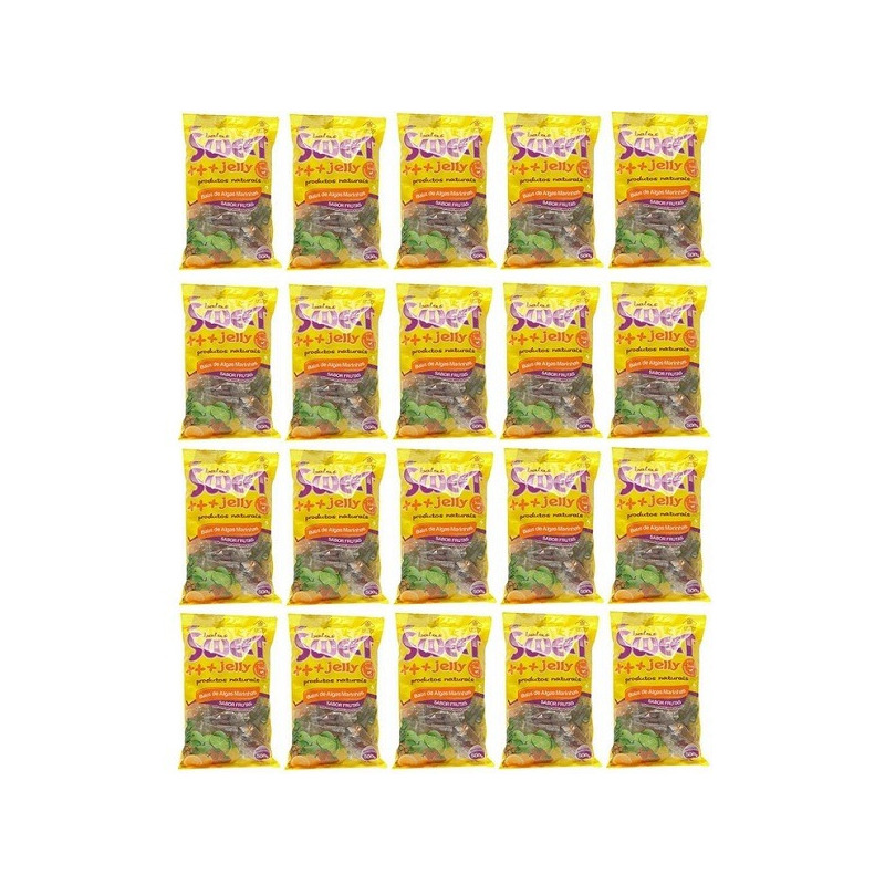 Balas de Algas (Sortidas) Kit 20 x 500g Sweet Jelly