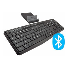 Teclado Inalambrico Bluetooth Logitech K375s K375 Multidispositivo Usb Unifying Pc Mac Celular Gtia Oficial