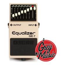 Boss Ge7 Ge-7 Equalizer Equalizador Grafico 7 Bandas