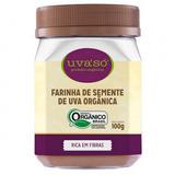Farinha de Semente de Uva Organica - 100g - Uva So