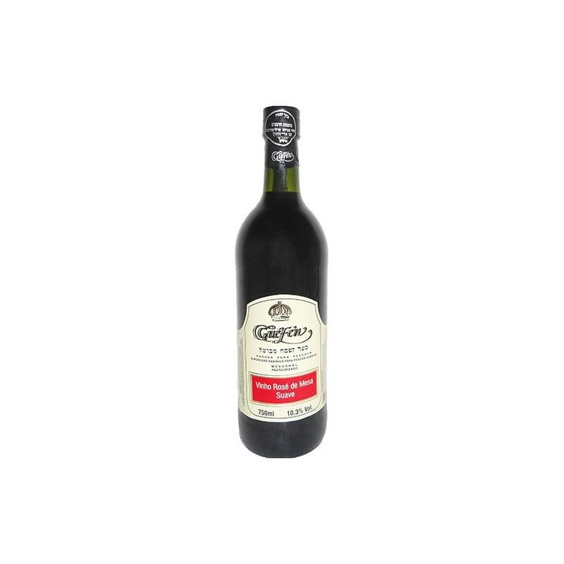 Vinho Rosé Suave Izabel/Bordô 750ml - Guéfen