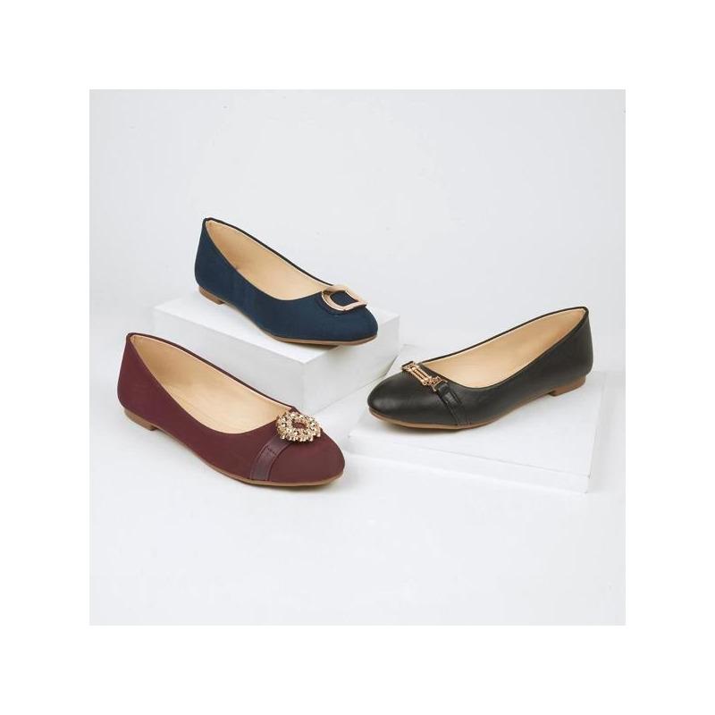 Combo zapatillas tinta, negra, azul 016544