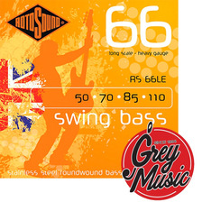 Rotosound Rs66le Swing Bass Para Bajo 050-110