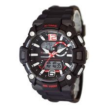 Reloj Deportivo Digital X-time Xt022 Analogico Sumergible Cronometro Alarma Luz