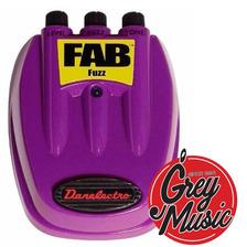 Pedal Fuzz Fab Danelectro D7 Efecto Para Guitarra