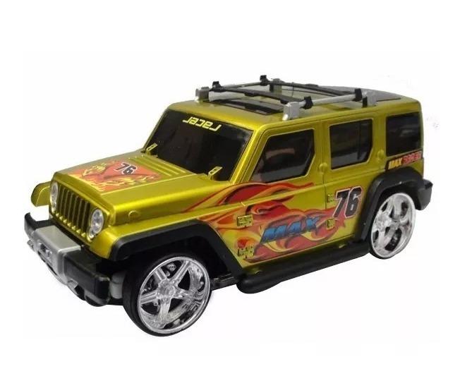 Camioneta Jeep Hummer Tuneada Radio Control 1/20 Luces