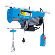 Aparejo Electrico A Cable 1000w 250 / 500 Kg 11-5.5mts Gamma