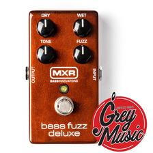 Pedal De Efectos Mxr M84 Bass Fuzz Deluxe - Grey Music -