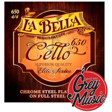 Encordado Para Cello 4/4 La Bella Rc650 - Grey Music