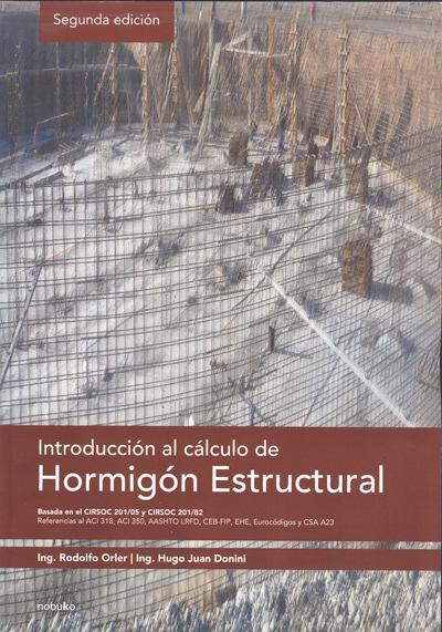 Introduccion al calculo de hormigon etructural. Orler, Do...